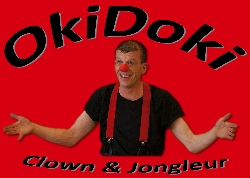 Afbeelding › Clown & Jongleur OkiDoki