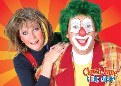 Afbeelding › Clown Jopie & Tante Angelique